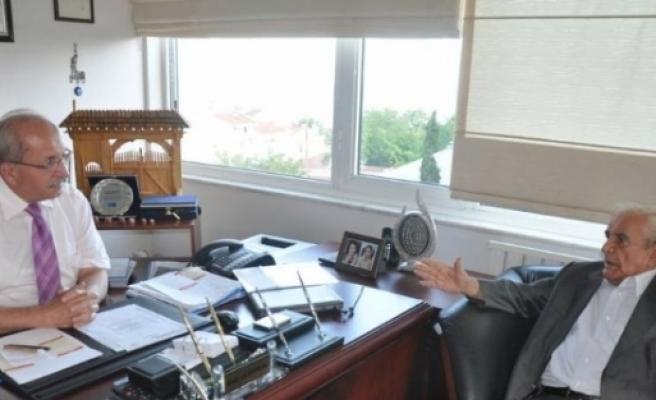İstanbul Büyükşehir Belediyesi Eski Başkanı Nurettin Sözen'den Başkan Albayrak'a Ziyaret