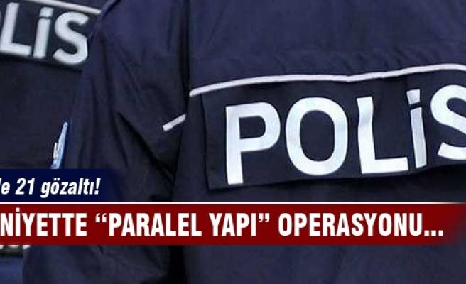 İstanbul'da polise operasyon! 21 gözaltı