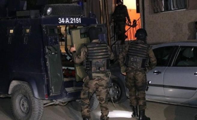 İstanbul'da şafak vakti terör operasyonu