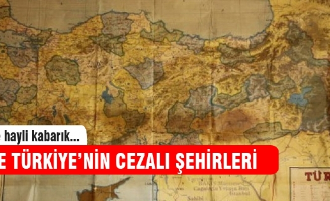 İşte Türkiye'nin cezalı şehirleri
