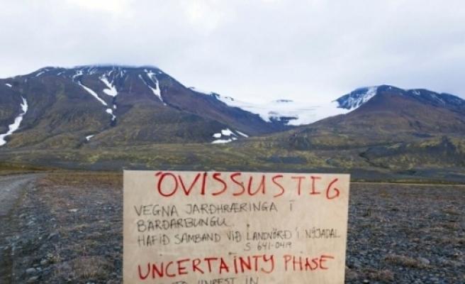 İzlanda'da Bardarbunga Yanardağı Harekete Geçti