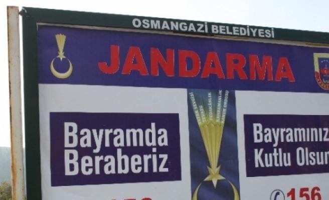 Jandarmanın Yeni Lagosu İlk Kez Bursa'da Kullanıldı