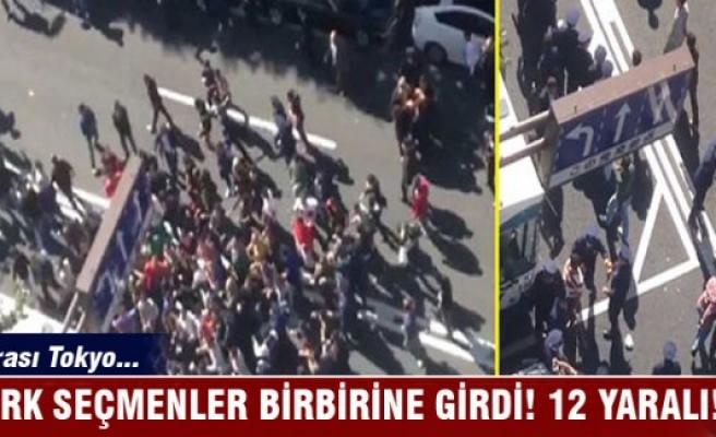 Japonya'da Türk seçmenler arasında kavga: 12 yaralı