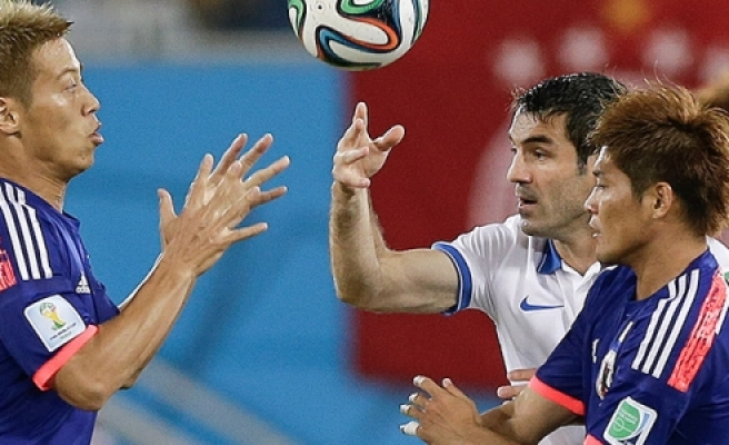 Japonya - Yunanistan maç özeti