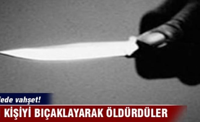 Kafede vahşet: İki kişiyi bıçaklayarak öldürdüler