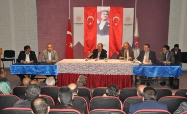 Karabük Belediye Meclisi Ekim Ayı Toplantısı Yapıldı