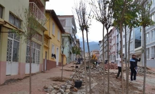 Karacasu Belediyesi'nden Yol Çalişmasi