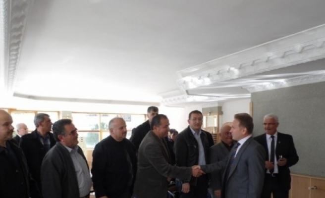 Kaymakam Tanrıkulu, Ak Parti İlçe Teşkilatı'nı Ziyaret Etti