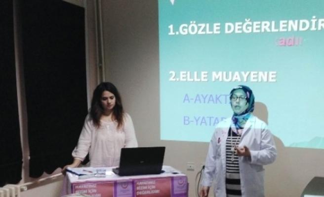 Kaynarca'da 'meme Kanseri'nde Farkındalık Oluşturma Eğitimi Verildi