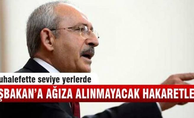 Kemal Kılıçdaroğlu, Başbakan'a hakaret etti