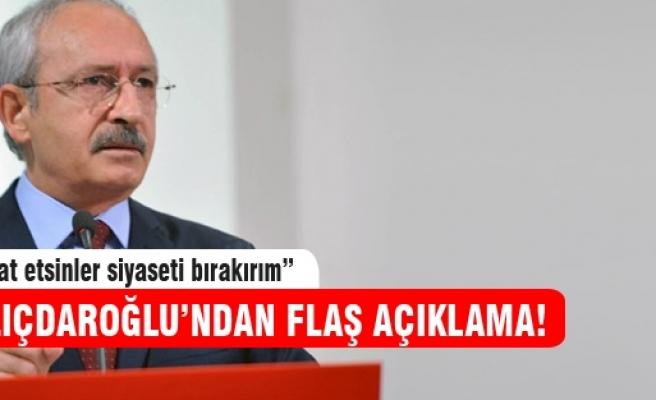 Kemal Kılıçdaroğlu o iddialara yanıt verdi