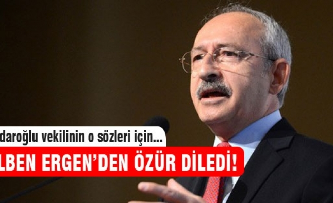 Kılıçdaroğlu Gülben Ergen ve Erhan Çelik'ten özür diledi