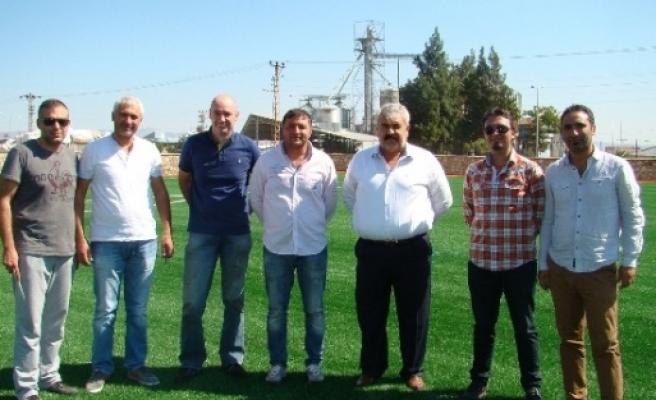 Kırıkhan'a Sentetik Çim Saha