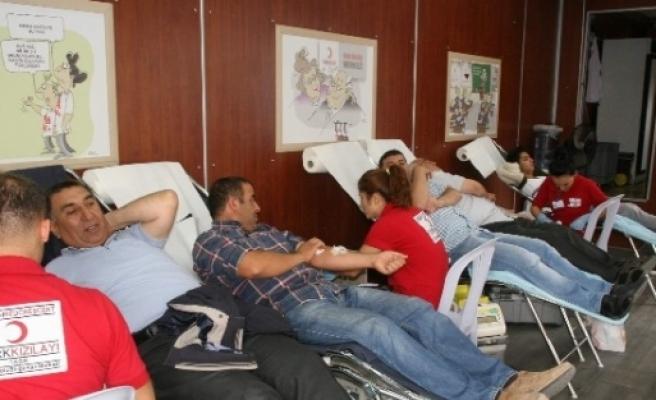 Kızılay Yozgat'ta Kan Bağışı Kampanyası Başlattı