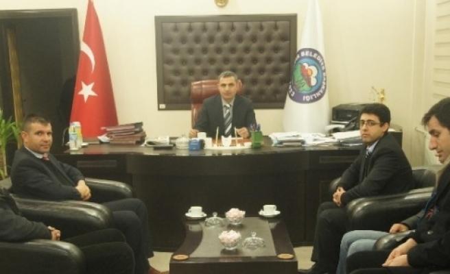 Kızılay'dan Iğdir Belediyesi'ne Ziyaret