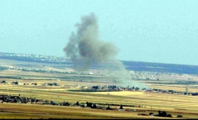 Koalisyon uçakları IŞİD mevzilerini vuruyor