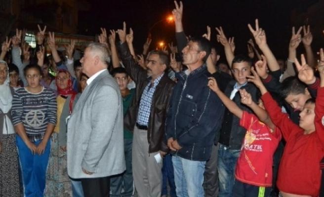 Kobani İçin Turgutlu'da Basın Açıklaması Yapıldı