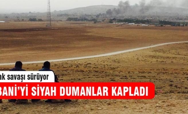 Kobani'yi kara bulutlar kapladı!