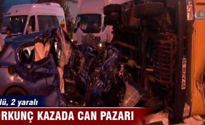 Korkunç kazada can pazarı: 2 ölü, 2 yaralı