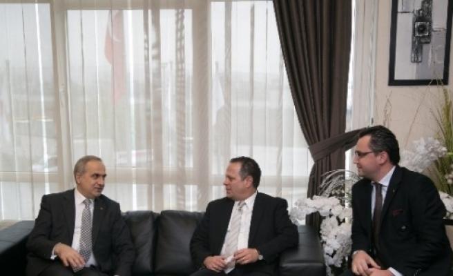 Makedonya Heyetinden, Başkan Kösemusul'a Ziyaret