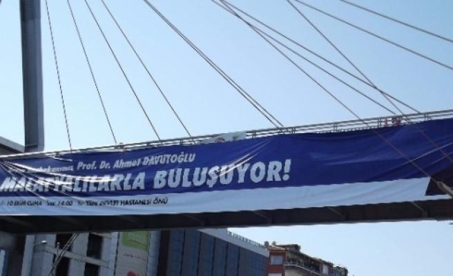 Malatya'da Başbakan Ahmet Davudoğlu Hazırlığı