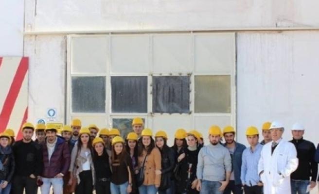 Manavgat Myo Öğrencileri Antalya Osb'ye Teknik Gezi