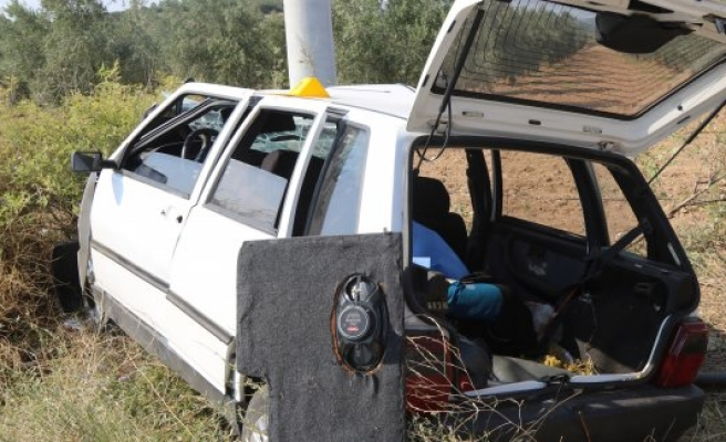 Manisa'da trafik kazası: 1 ölü, 3 yaralı