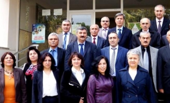 Manisa Nüfus Müdürleri Sarıgöl'de Bir Araya Geldi