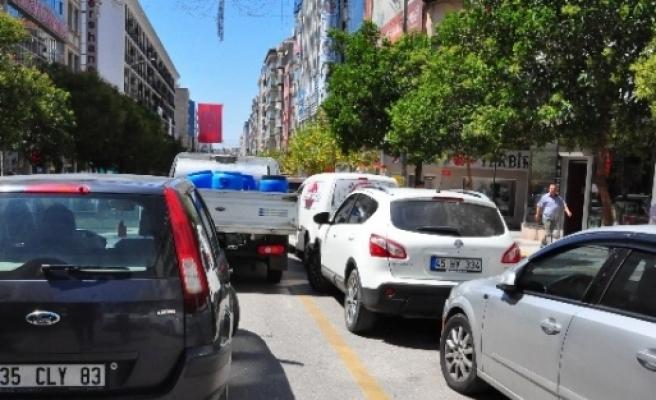 Manisa'da Trafikteki Araç Sayısı 490 Bini Geçti