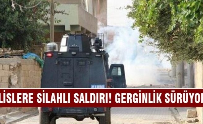 Mardin'de PKK'dan polislere silahlı saldırı!