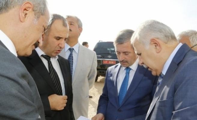 ''mavikent'' Gaziantep Valisi Ata Ve Başkan Tahmazoğlu'nu Ağırladı