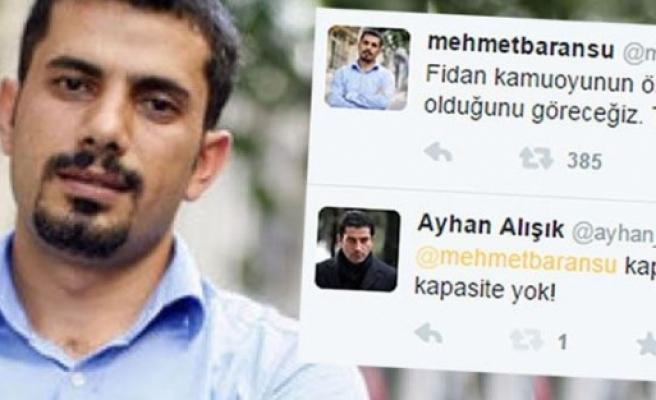 Mehmet Baransu'yu rezil eden tweet