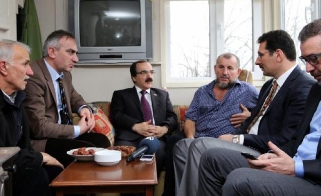 Mekke'de Erdoğan'a dua isteyince olanlar oldu!