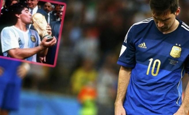 Messi yine eli boş döndü