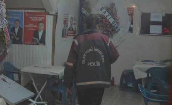 MHP seçim irtibat bürosunda kavga