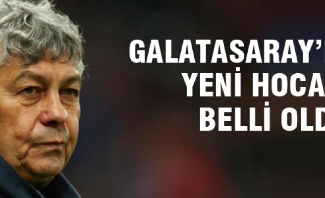 Mircea Lucescu Galatasaray'da