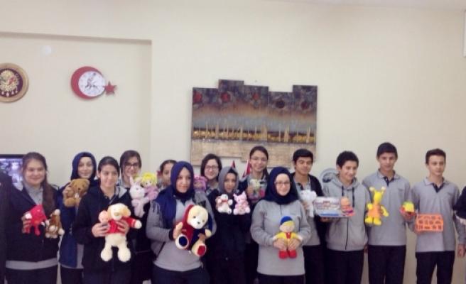 Mudanyalı öğrenciler Ermenek'i unutmadı