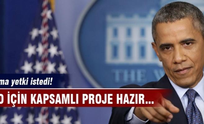 Obama IŞİD için yetki istedi!