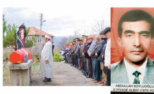 Öcalan'a 'Memlekete hoşgeldin' diyen asker son yolculuğuna uğurlandı