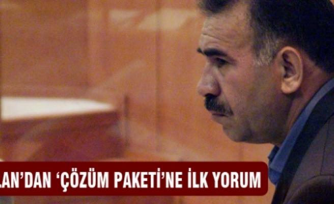 Öcalan'dan 'Çözüm Paketi'ne ilk yorum