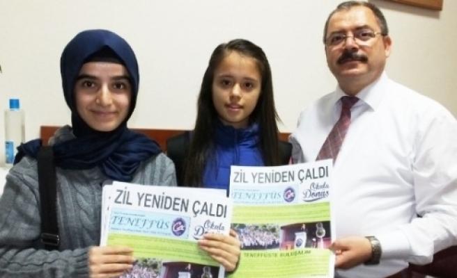 Öğrenci Gazetesi Teneffüs'ün 81. Sayısı Çikti