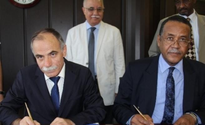 Omü, Sudan'la Eğitimde İşbirliği Anlaşması Yaptı