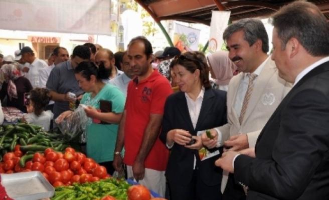 Organik Ürün Pazarı Açıldı