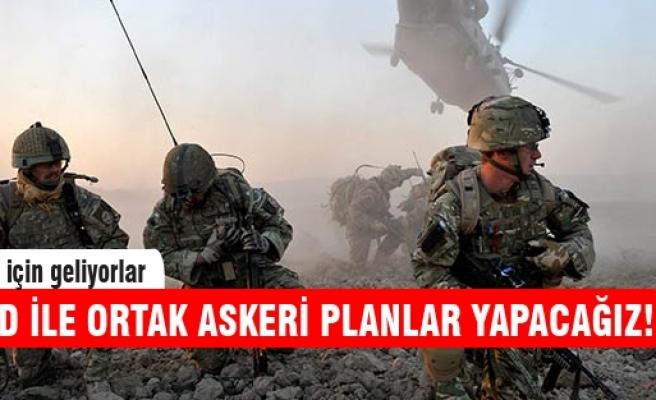 Ortak askeri planlama ekibi Türkiye'ye geliyor