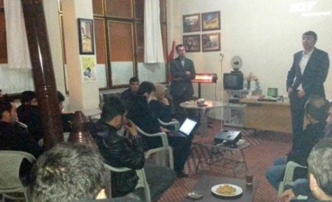 Pasinler'de Şair Nefi Ömer Anma Programı Düzenlendi