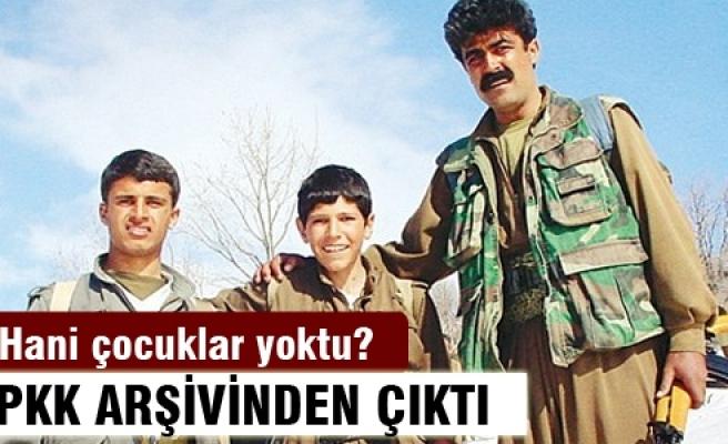 PKK arşivinden 'çocuk' çıktı!