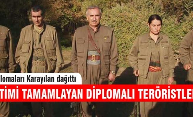 PKK askeri eğitim diplomalarını dağıttı!
