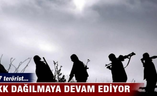 PKK dağılmaya devam ediyor...