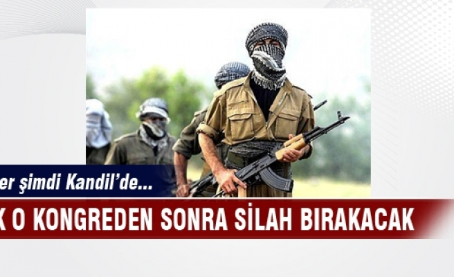 PKK silah bırakıyor