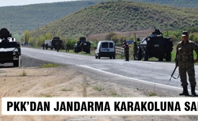 PKK, Tunceli'de Jandarma Karakoluna saldırdı